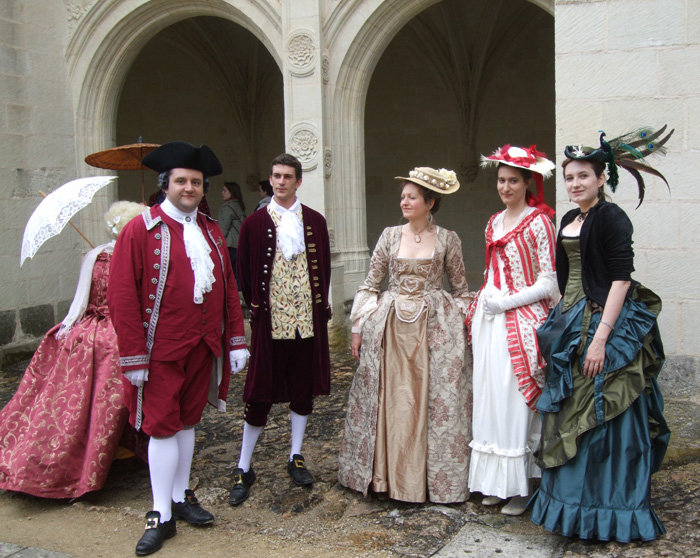 Balade en costume et visite de l'abbaye de Fontevraud 2010 29331_10