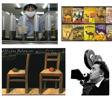 Juxtapositions oulipiennes d'images - Poésie des contrastes Fellin10