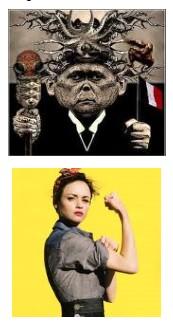Juxtapositions oulipiennes d'images - Poésie des contrastes Powerw10
