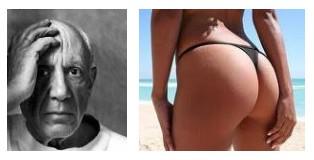 Juxtapositions oulipiennes d'images - Poésie des contrastes Reflet10