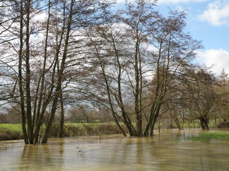 Février 2010 c'est aussi le mois des inondations!!! Vauvar29