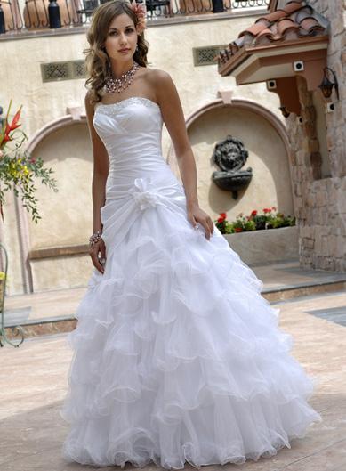 فساتين زفاف للقمرات 7796_120