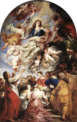 Mercredi,fin de la vie de la Vierge sur terre Baroqu10