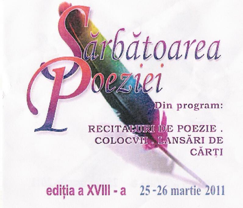 Sărbătoarea poeziei la Iaşi editia a XVIII-a-martie 2011 112