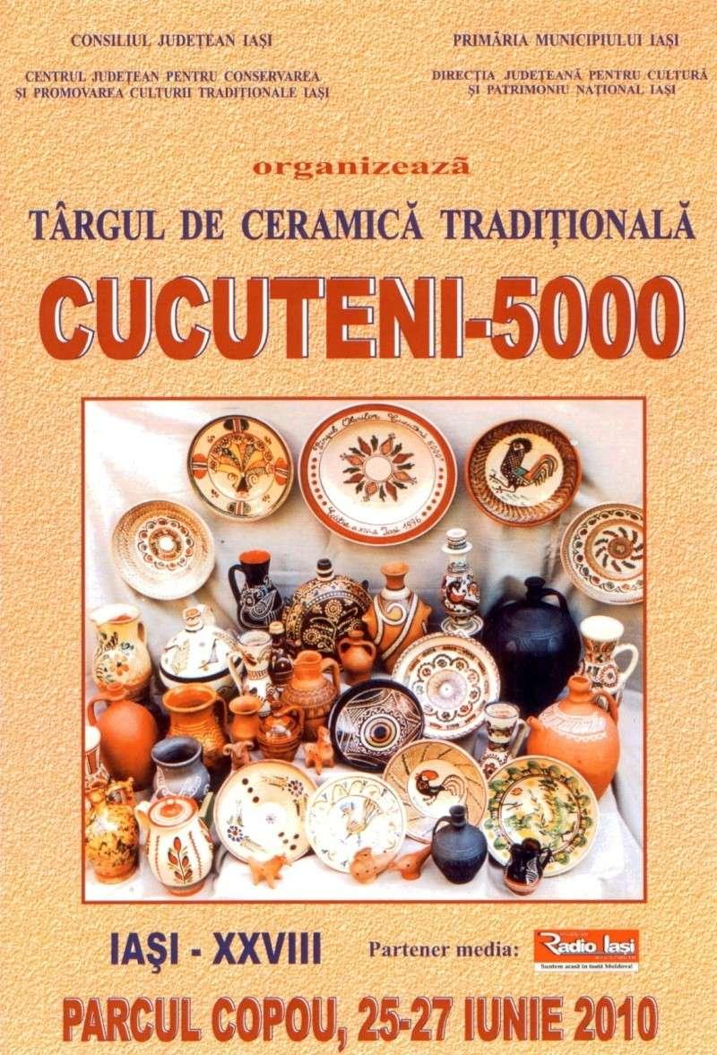 Targul de Arta Ceramica Cucuteni 5000-iunie 2010 Afis_c10