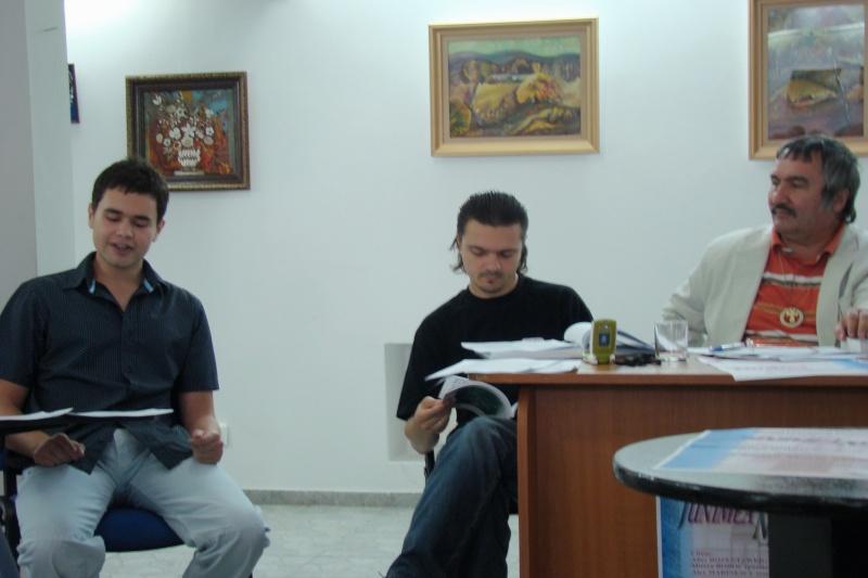 """CENACLUL """"JUNIMEA NOUĂ""""-ediţia a III a Cenac103"""