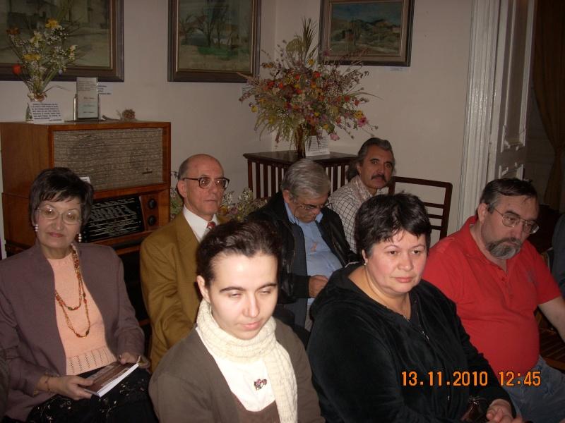 13 noiembrie 2010 -Sedinta a VII-a a Cenaclului U.P.-Lansare de carte-Vasilica Ilie-Fereastra de la Răsăritul Cuvântului Cenac124