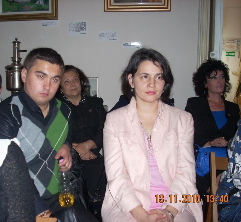 13 noiembrie 2010 -Sedinta a VII-a a Cenaclului U.P.-Lansare de carte-Vasilica Ilie-Fereastra de la Răsăritul Cuvântului Cenac126
