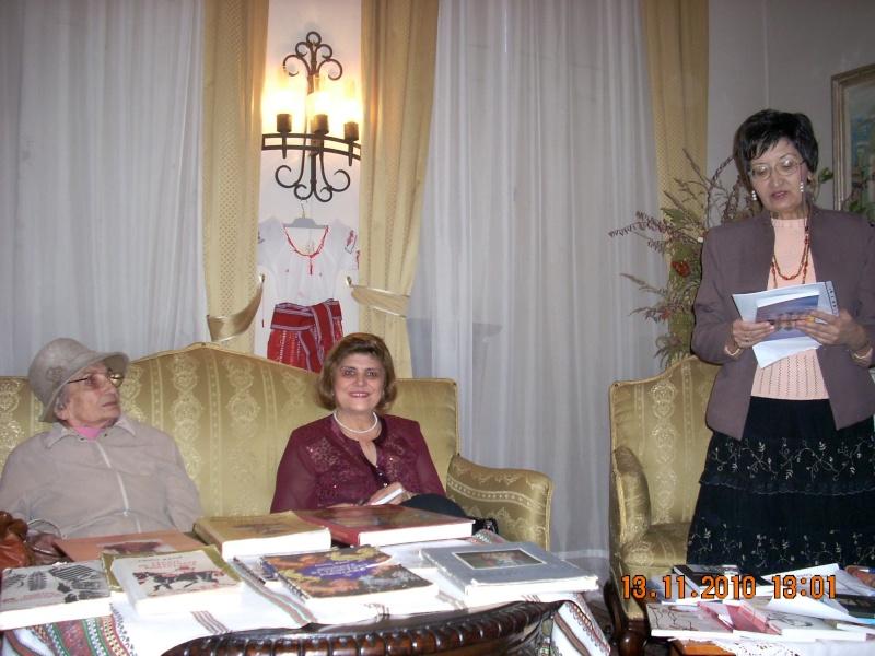 13 noiembrie 2010 -Sedinta a VII-a a Cenaclului U.P.-Lansare de carte-Vasilica Ilie-Fereastra de la Răsăritul Cuvântului Cenac137