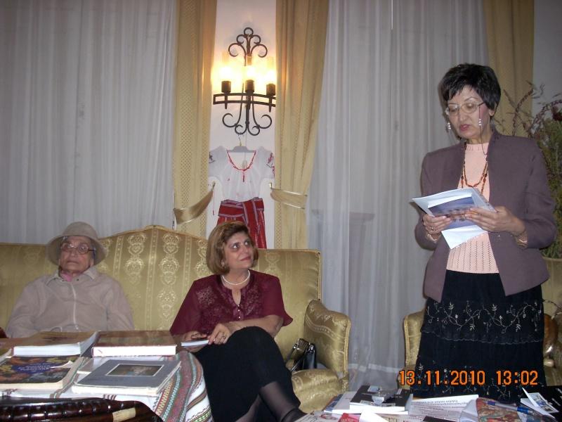 13 noiembrie 2010 -Sedinta a VII-a a Cenaclului U.P.-Lansare de carte-Vasilica Ilie-Fereastra de la Răsăritul Cuvântului Cenac139