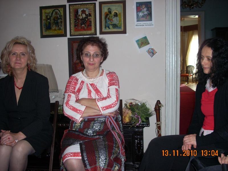 13 noiembrie 2010 -Sedinta a VII-a a Cenaclului U.P.-Lansare de carte-Vasilica Ilie-Fereastra de la Răsăritul Cuvântului Cenac140