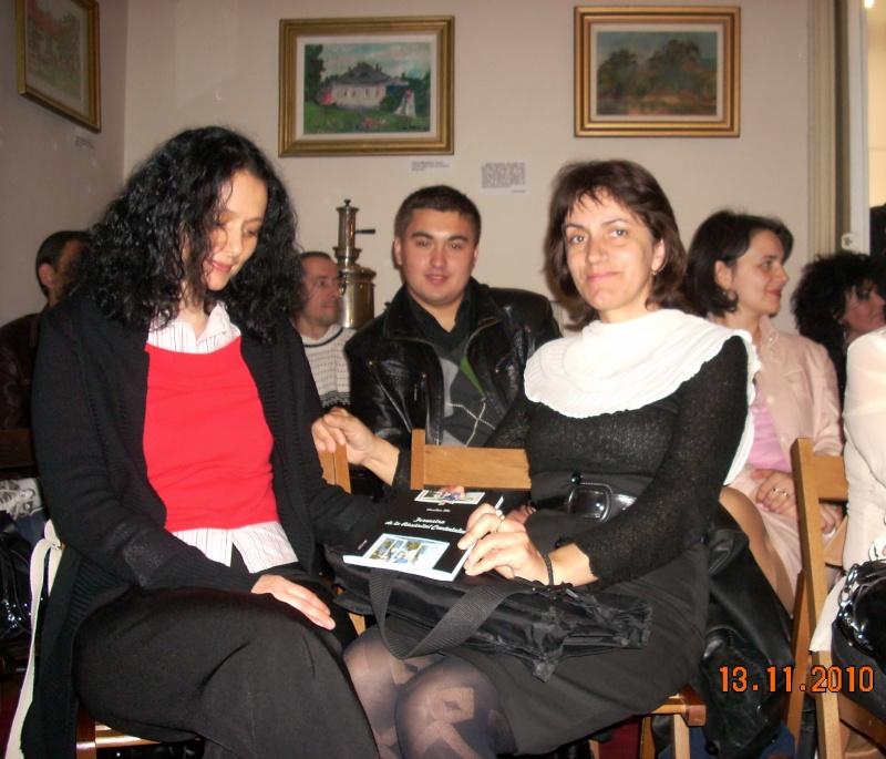 13 noiembrie 2010 -Sedinta a VII-a a Cenaclului U.P.-Lansare de carte-Vasilica Ilie-Fereastra de la Răsăritul Cuvântului Cenac141