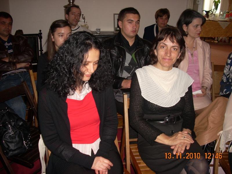 13 noiembrie 2010 -Sedinta a VII-a a Cenaclului U.P.-Lansare de carte-Vasilica Ilie-Fereastra de la Răsăritul Cuvântului Cenac142