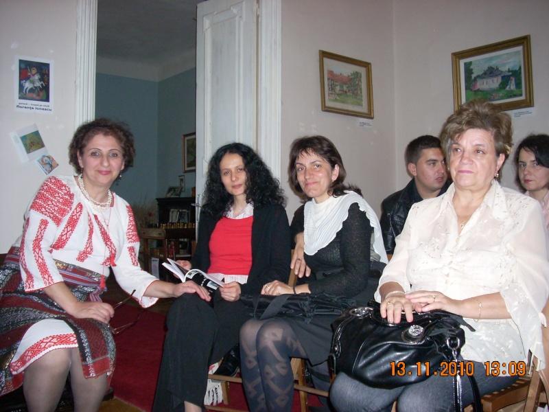 13 noiembrie 2010 -Sedinta a VII-a a Cenaclului U.P.-Lansare de carte-Vasilica Ilie-Fereastra de la Răsăritul Cuvântului Cenac143