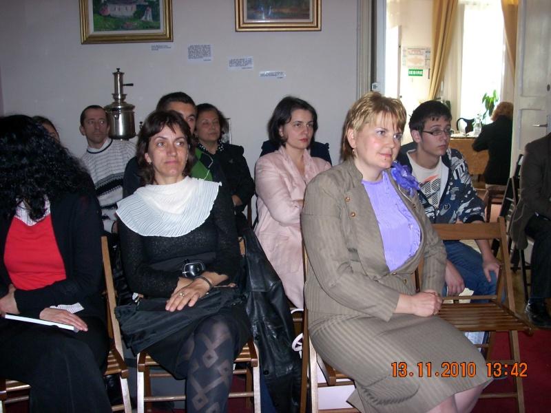 13 noiembrie 2010 -Sedinta a VII-a a Cenaclului U.P.-Lansare de carte-Vasilica Ilie-Fereastra de la Răsăritul Cuvântului Cenac148