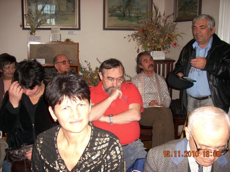 13 noiembrie 2010 -Sedinta a VII-a a Cenaclului U.P.-Lansare de carte-Vasilica Ilie-Fereastra de la Răsăritul Cuvântului Cenac152