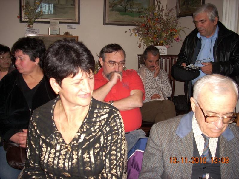 13 noiembrie 2010 -Sedinta a VII-a a Cenaclului U.P.-Lansare de carte-Vasilica Ilie-Fereastra de la Răsăritul Cuvântului Cenac153