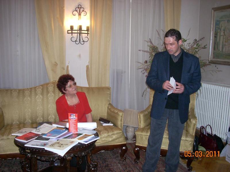 """5 Martie 2011-Sedinta a-XI-a a Cenaclului U.P.-Lansare de carte-""""Stau la poarta viselor""""-de Silvia V. Gurău Cenac178"""