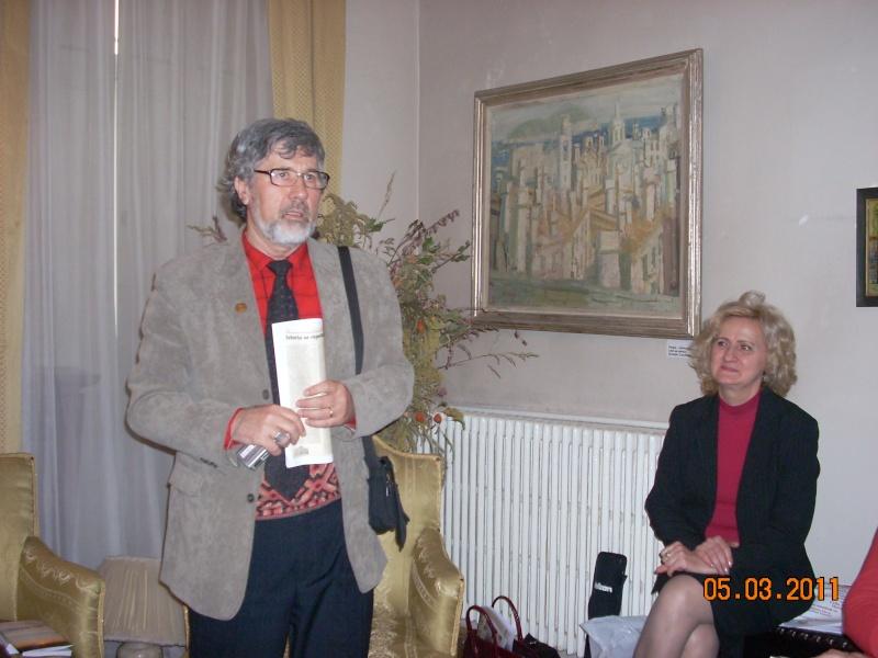 """5 Martie 2011-Sedinta a-XI-a a Cenaclului U.P.-Lansare de carte-""""Stau la poarta viselor""""-de Silvia V. Gurău Cenac186"""