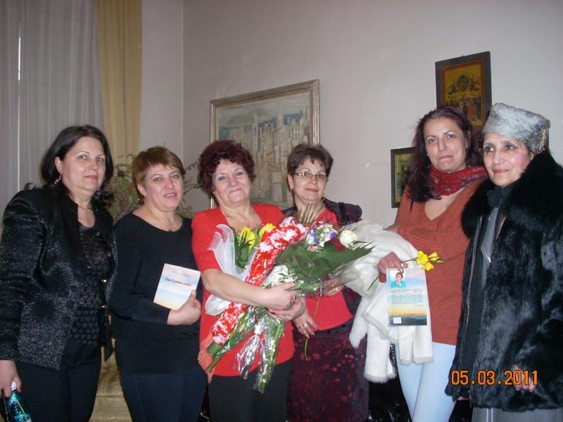 """5 Martie 2011-Sedinta a-XI-a a Cenaclului U.P.-Lansare de carte-""""Stau la poarta viselor""""-de Silvia V. Gurău Cenac192"""