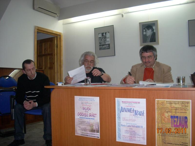 """CENACLUL """"JUNIMEA NOUĂ""""-ediţia a VIII a Cenac237"""