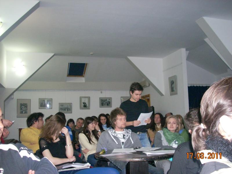 """CENACLUL """"JUNIMEA NOUĂ""""-ediţia a VIII a Cenac239"""