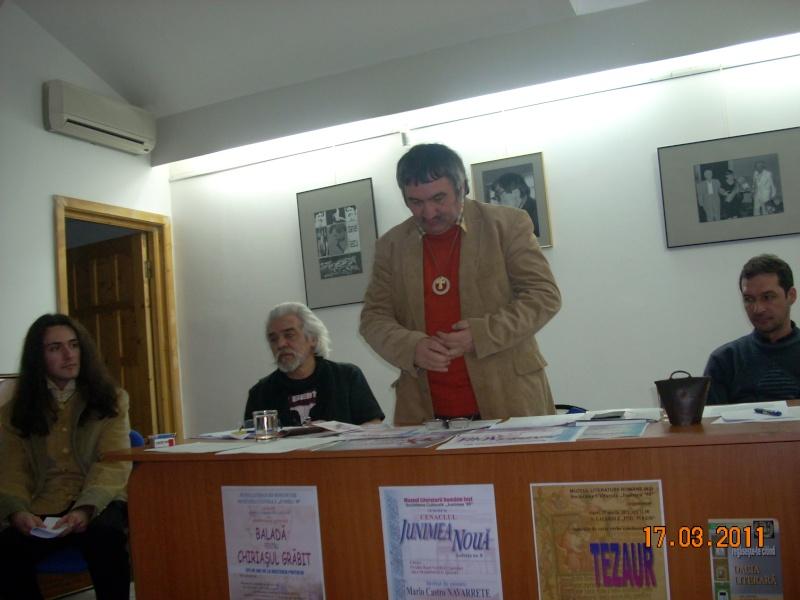 """CENACLUL """"JUNIMEA NOUĂ""""-ediţia a VIII a Cenac240"""