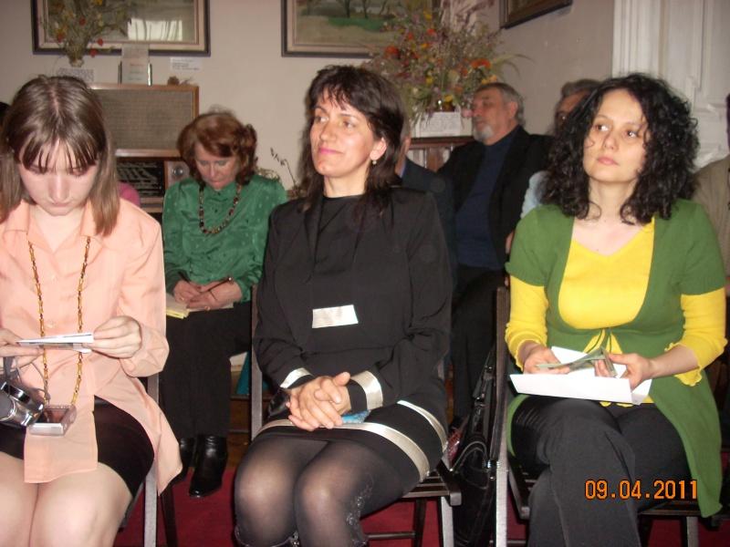 09 aprilie 2011-Sedinta A XII-a Cenaclului U.P-Lansari de carte-Dorina Neculce (Ciocan) si Aurel Avram Stanescu Cenac260