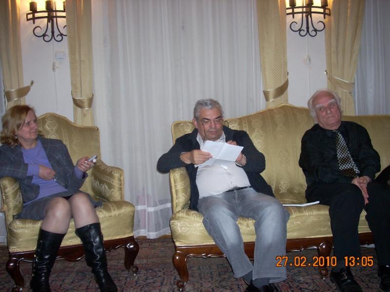 27 februarie 2010-sedinta de deschidere a Cenaclului Universul Prieteniei Cenacl15
