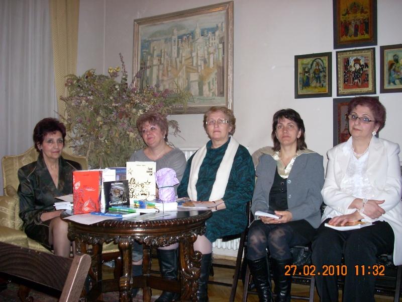 27 februarie 2010-sedinta de deschidere a Cenaclului Universul Prieteniei Cenacl18