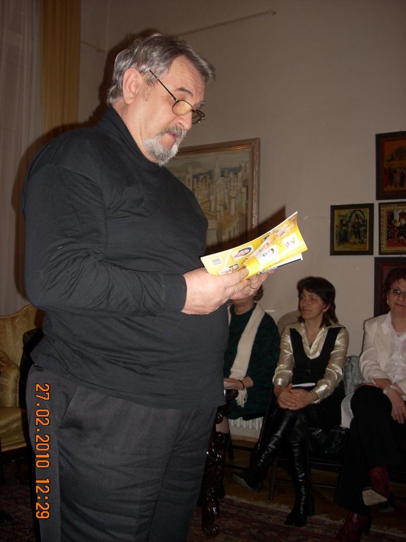 27 februarie 2010-sedinta de deschidere a Cenaclului Universul Prieteniei Cenacl23