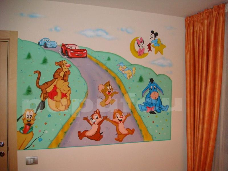 Picturi murale si diverse decoratiuni pentru camere de copii Clip_112