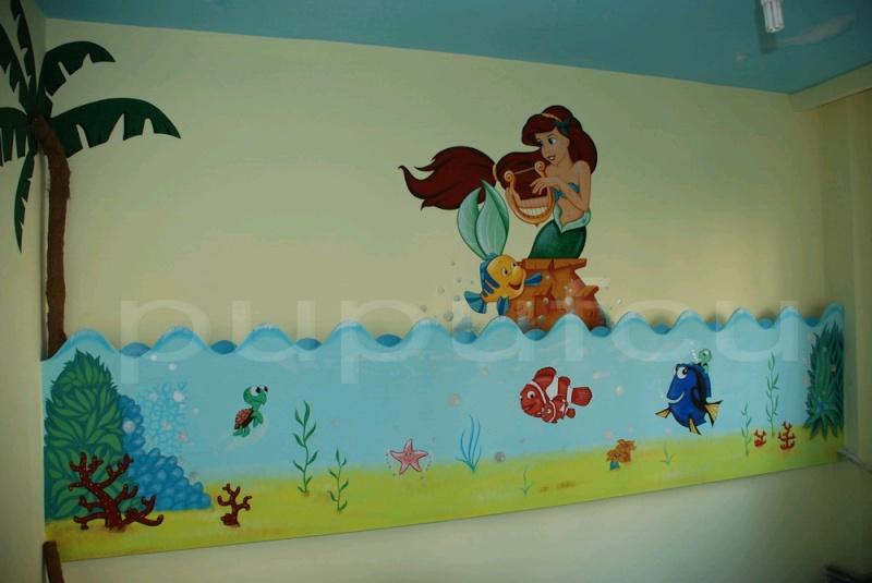 Picturi murale si diverse decoratiuni pentru camere de copii Clip_114