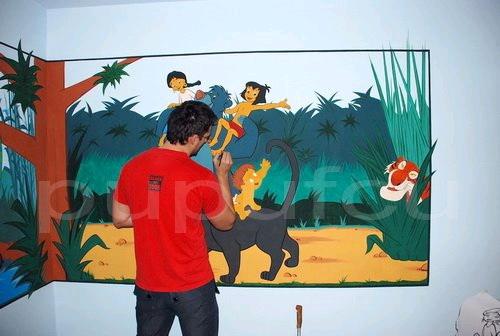 Picturi murale si diverse decoratiuni pentru camere de copii Clip_120