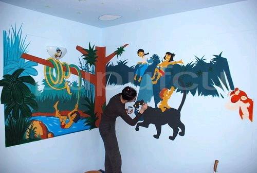 Picturi murale si diverse decoratiuni pentru camere de copii Clip_211