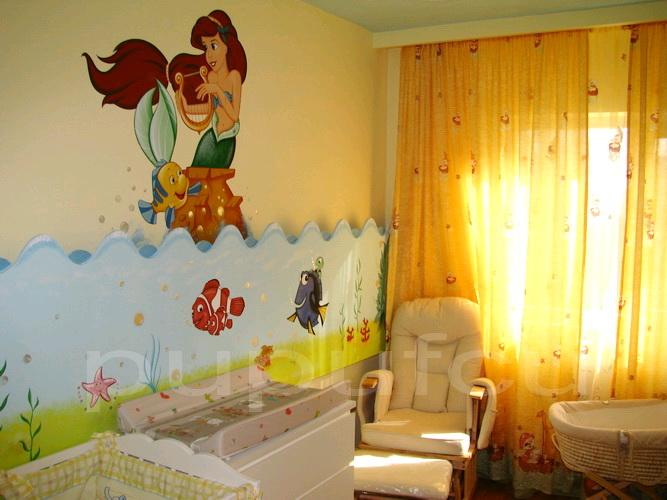 Picturi murale si diverse decoratiuni pentru camere de copii Clip_212