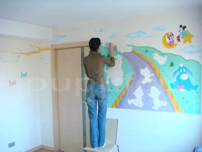 Picturi murale si diverse decoratiuni pentru camere de copii Clip_213