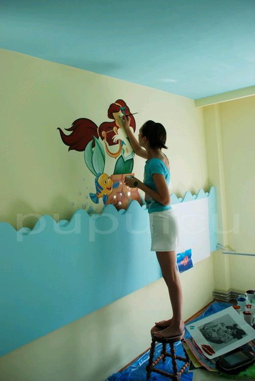 Picturi murale si diverse decoratiuni pentru camere de copii Clip_214