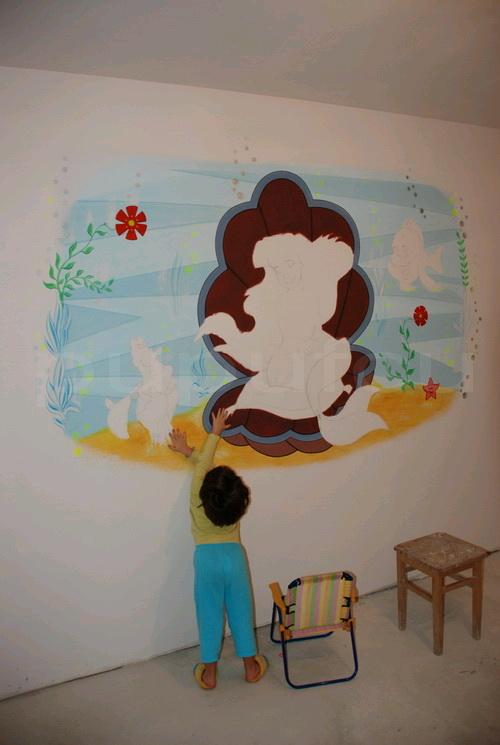 Picturi murale si diverse decoratiuni pentru camere de copii Clip_216