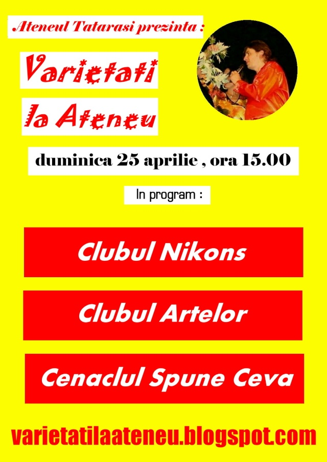 Duminica 25 aprilie -Varietati la Ateneu Clip_220
