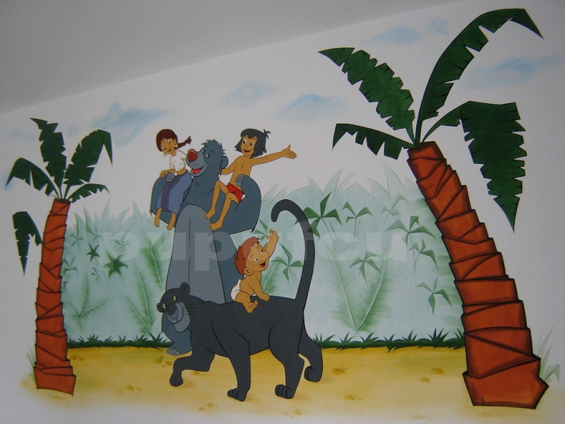 Picturi murale si diverse decoratiuni pentru camere de copii Clip_810