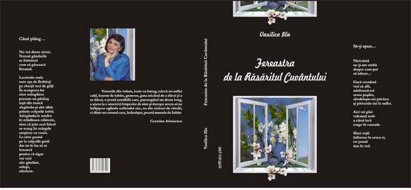13 noiembrie 2010 -Sedinta a VII-a a Cenaclului U.P.-Lansare de carte-Vasilica Ilie-Fereastra de la Răsăritul Cuvântului Copert13