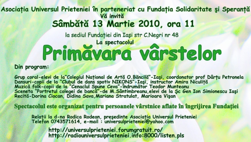 PRIMAVARA VARSTELOR 13 MARTIE 2010 Invita10