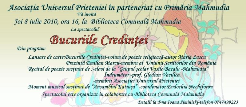 Tabara de creatie si recreatie Mahmudia-Natura-Istorie-Civilizatie-iulie 2010 Invita12
