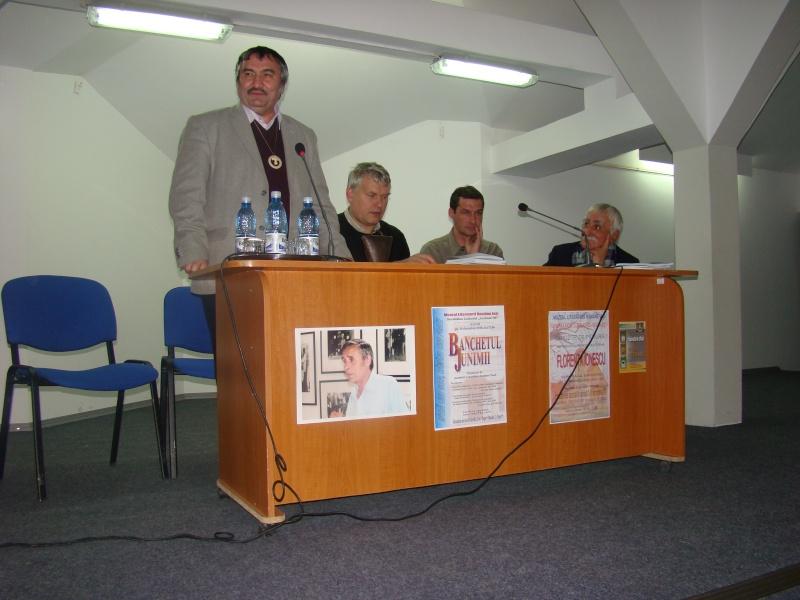 """CENACLUL """"JUNIMEA NOUĂ""""-ediţia a VI a şi Banchetul Junimii Junime37"""