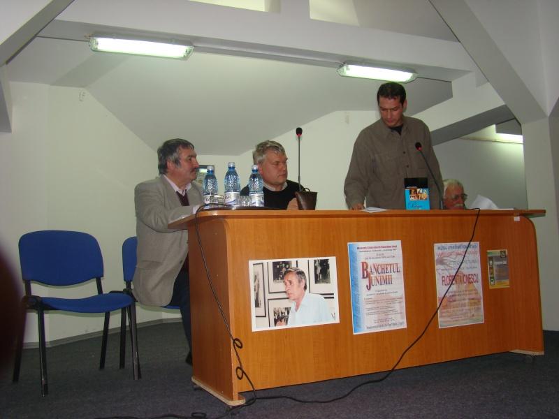 """CENACLUL """"JUNIMEA NOUĂ""""-ediţia a VI a şi Banchetul Junimii Junime38"""