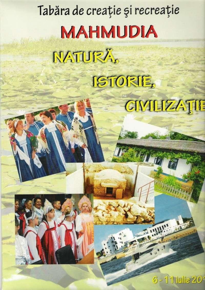 Tabara de creatie si recreatie Mahmudia-Natura-Istorie-Civilizatie-iulie 2010 Scan0034