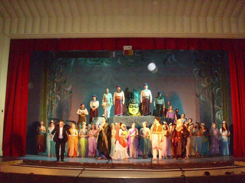 Seara de opera-Pescuitorii De Perle de Bizet T110