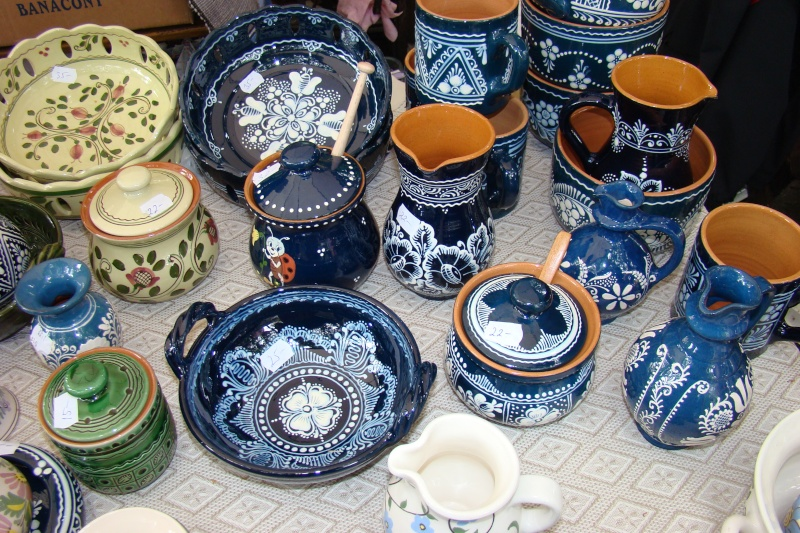 Targul de Arta Ceramica Cucuteni 5000-iunie 2010 Targul12
