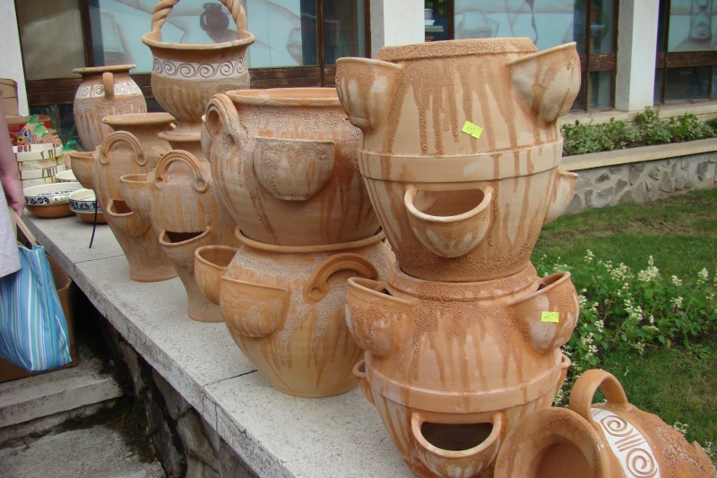 Targul de Arta Ceramica Cucuteni 5000-iunie 2010 Targul36